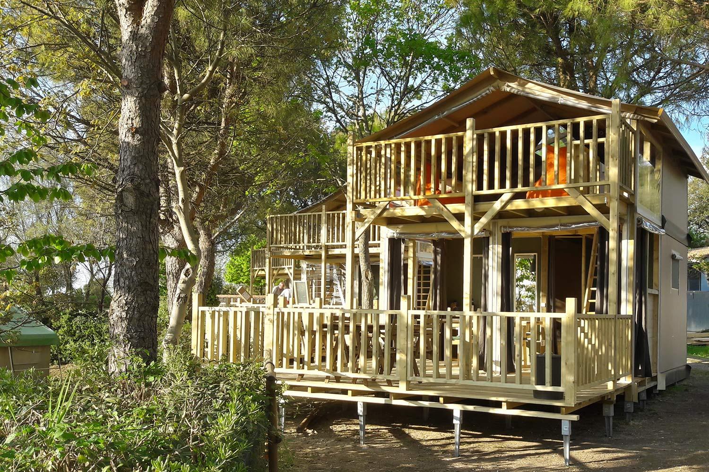 Glamp Air huren op Camping Paradiso
